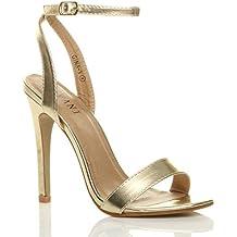 negozio online e600e 7773c Amazon.it: Scarpe Sandali Alti - Oro