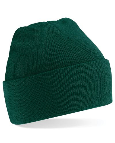Bonnet Beechfield Casquette originale avec chevilles resserrées Vert - Vert bouteille