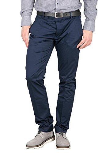 ANTONY MORATO - Homme slim fit pantalon mmtr00281/fa800061 Blu marine