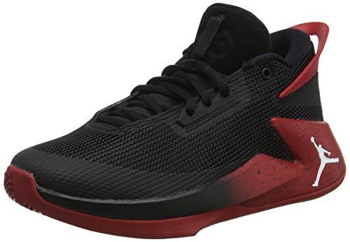 Jordan Jungen Fly Lockdown (GS) Basketballschuhe, Mehrfarbig (Black/White-Gym Red 023), 37.5 EU