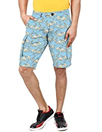100% Cotton Slim Fit Non Stretchable Mens BIRD SHORT By Uber Urban