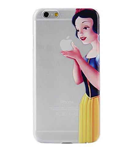 Phone Kandy® Garde de la peau et l'écran clair transparent Hard Shell Case pour iPhone Cartoon Coquille Snow White