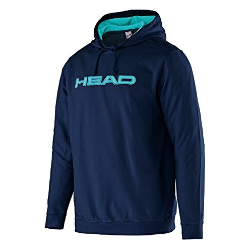 Head Transition Byron - Felpa con cappuccio, da uomo, Uomo, Transition Byron, nero/blu, L