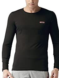 2GO Mens Cotton T-shirt_8907262420695_Bold Black_M