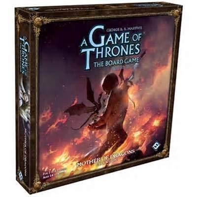 Fantasy Flight Games FFGVA103 Thrones The Brettspiel: Mother of Dragons Expansion (Fantasy Flight Game Of Thrones)