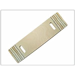 Rutschbrett Transferhilfe Rutschbretter aus Holz zum leichten Umsetzen der Patienten bis 120Kg *Top-Qualität zum Top-Preis*