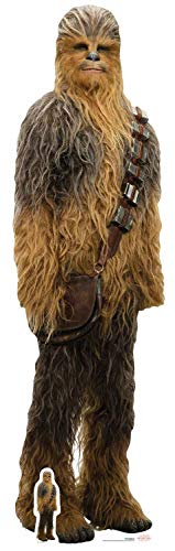 Offizielle Star Wars Ausschnitte, Pappe, Chewbacca Jedi, 195 x 55 x 195 cm