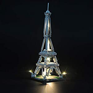 LIGHTAILING Set di Luci per (Architecture Torre Eiffel) Modello da Costruire - Kit Luce LED Compatibile con Lego 21019… 0753318440098 LEGO