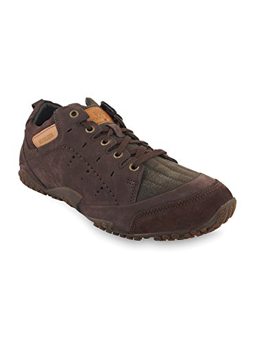 Woodland Men's Brown Leather outdoor shoes  available at amazon for Rs.2237