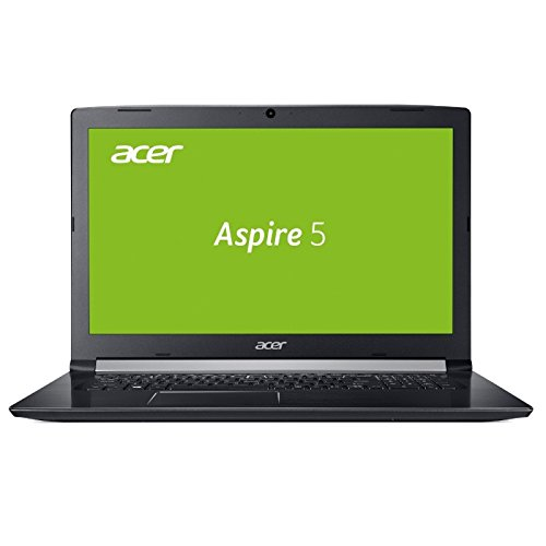 NOTEBOOK ACER A517 - CORE i5 - 8GB DDR4-RAM - 128GB SSD + 1TB HDD - WINDOWS 10 PRO - 44cm (17.3