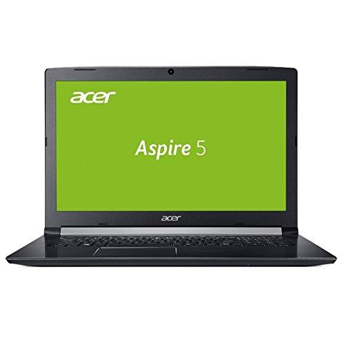 NOTEBOOK ACER A517 - CORE i5 - 8GB DDR4-RAM - 128GB SSD + 1TB HDD - WINDOWS 10 PRO - 44cm (17.3