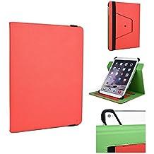 'Kroo 12inch soporte de tablet funda universal Fit para Acer Aspire S7–391 rojo Scarlet Red