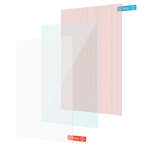 UC-Express Schutzfolie Handy 4X Universal Displayschutz Folie bis 6 Zoll Displayschutzfolie