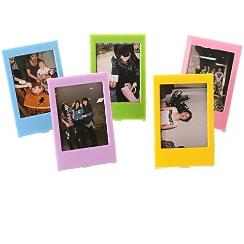 Fujifilm Instax Mini Marco de la Foto de Fuji Instax Mini Películas (5 piezas)
