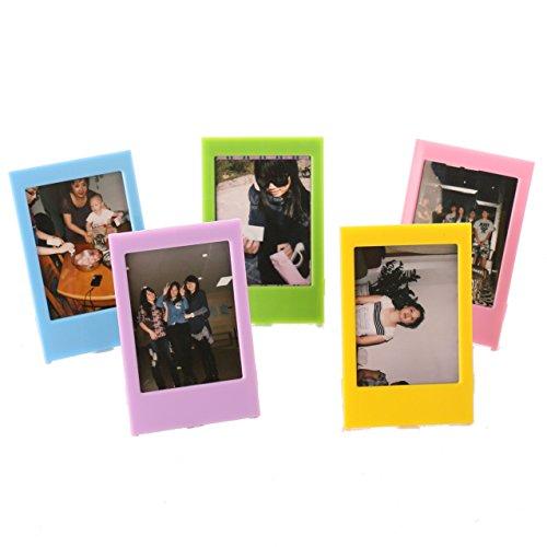 Fujifilm-Kreativ-Foto-Rahmen-WOODMIN-3-zoll-5-Stck-Bunt-Bilderrahmen-fr-Instax-Mini-8-70-7s-90-25-50s-Films