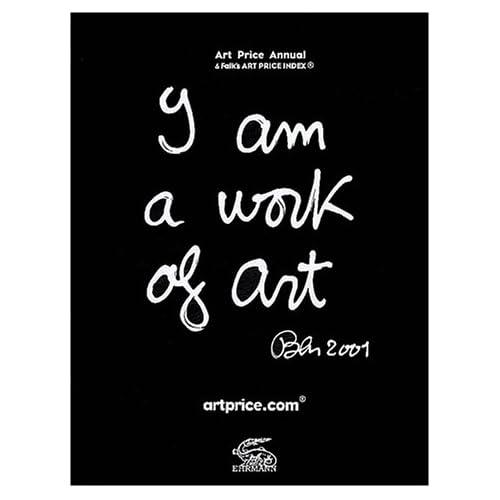 Artprice Annual, édition 2001, impression limitée et numérotée