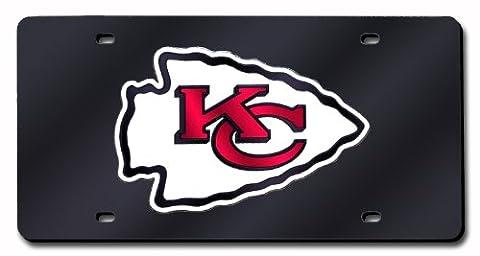 NFL Kansas City Chiefs Laser-Cut Auto