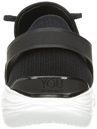 Skechers Damen You-Inspire Slip On Sneaker Schwarz (Black/White)
