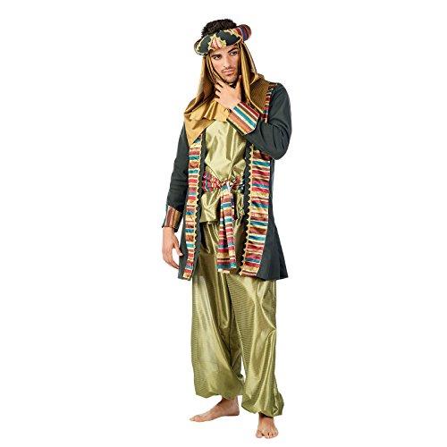 Männer Herren Kostüm Deluxe Premium Komplett Set Maure Sultan orientalischer Prinz Aladdin Gr. XL