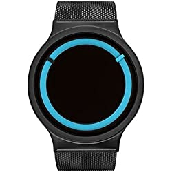 ZIIIRO Watch - Eclipse Metallic - Black/Ocean