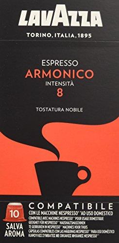 Lavazza Espresso Armonico - Confezione da 100 Capsule Compatibili Nespresso