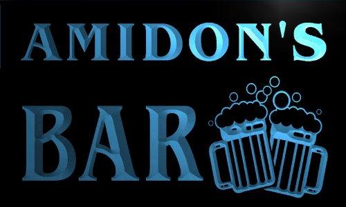 w012677-b-amidons-nom-accueil-bar-pub-beer-mugs-cheers-neon-sign-biere-enseigne-lumineuse