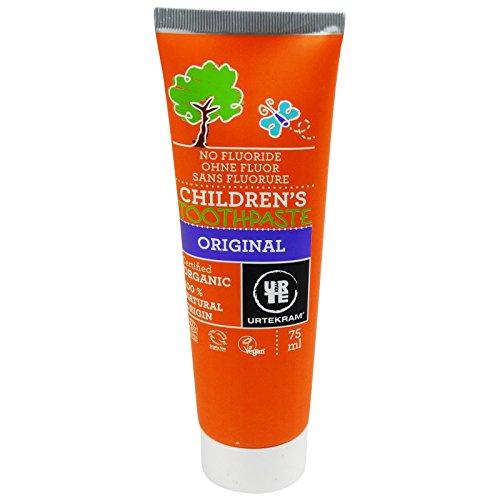 URTEKRAM - Kinder-Zahnpaste - Rundum wirkungsvoll - Ohne Fluorid