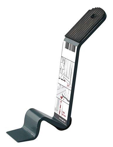 Gedotec Türheber für schwere Türen zum Ausheben und Einhängen von Zimmertüren | Plattenheber Metall anthrazit | Baubeschläge | 1 Stück