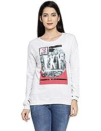 Ajile By Pantaloons Women's Crew Neck Sweatshirt