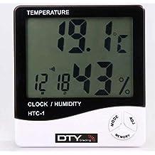 Termómetro Medidor de Humedad Digital con LCD