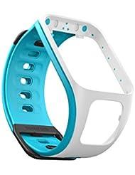 TomTom Spark & Runner 2 Sportuhr Wechselarmband, türkis/weiß, 21,5 x 3,5 x 1,1 cm