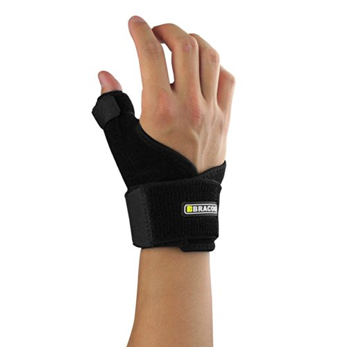 Bracoo Reversible Thumb Stabilizer, Black