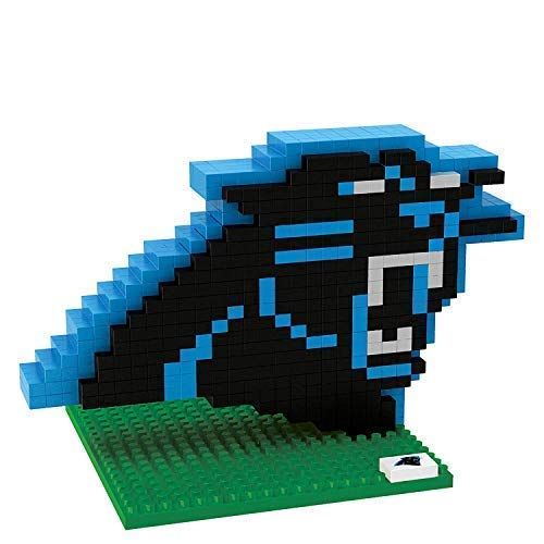 FOCO Carolina Panthers Logo NFL 3D BRXLZ Bausatz