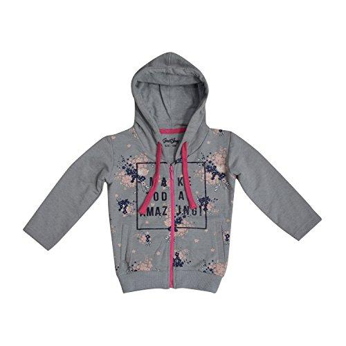 Gini and Jony Baby Girls' Jacket (121010164115 C205_Grey_9-12 months)