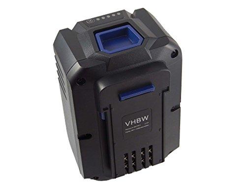 vhbw Li-Ion Akku 4000mAh (36V) für Akku Rasenmäher Lux Tools AC 36-40, AC36-40 wie 1787233.