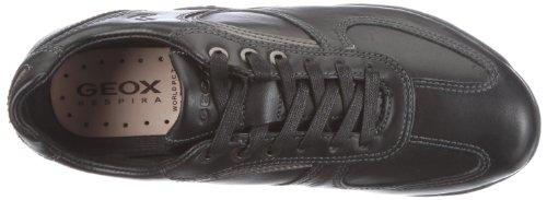 Geox  UOMO COMPASS, Sneakers Basses homme Noir (noir c9999)