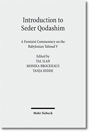 Introduction to Seder Qodashim: A Feminist Commentary on the Babylonian Talmud V