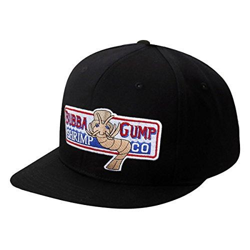 Nofonda Forrest Gump Casquette Bubba Gump Shrimp Co Costume Running Loisirs snapback Chapeau cadeau (noir) Nofonda