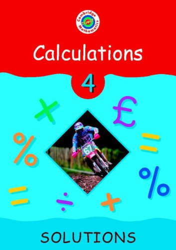 Cambridge Mathematics Direct 4 Calculations Solutions