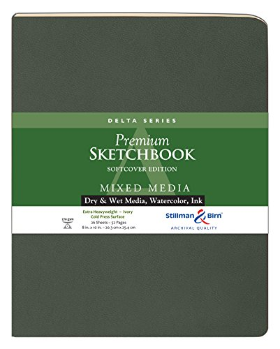 Delta Softcover Sketchbook 8X10 by Stillman & - Stillman And Birn-delta