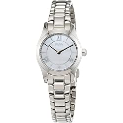 Hugo Boss Women's Quartz Watch Analogue Display and Stainless Steel Strap 1502377
