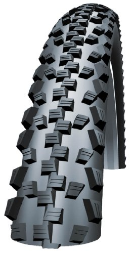 SCHWALBE BLACK JACK 26X2 10 WIRED TYRE 740G (54 559)   BLACK