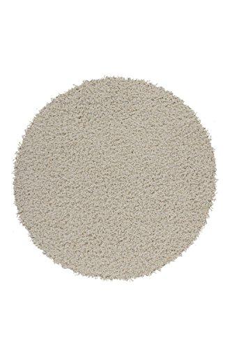 Kayoom 4056216048615 Teppich, 100% Polypropylen Heatset Frisée, elfenbein, 67 x 67 x 5 cm (Elfenbein-polypropylen-teppich)