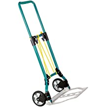 Wolfcraft TS 550 Chariot de manutention Charge maximum 70 kg Turquoise