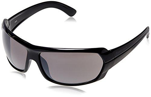 Fastrack Black Wrap Sunglasses (P190BK1) image
