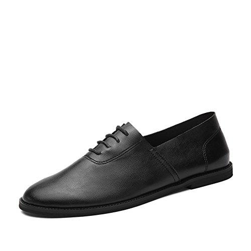 Scarpe casual business di estate/Inglese selvaggio-scarpe uomo Nero