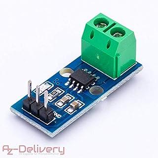 AZDelivery ⭐⭐⭐⭐⭐ ACS712 30A Ampere Stromsensor Range Modul Current Sensor für Arduino Bascom