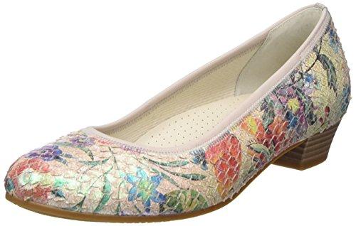 Gabor - Gabor Comfort, Talons Multicolores Pour Femme (mehrfarbig (29 Kombi Rose))