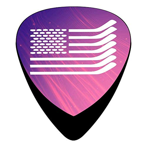 USA Hockey Flag Celluloid Electric Guitar Picks 12-pack -