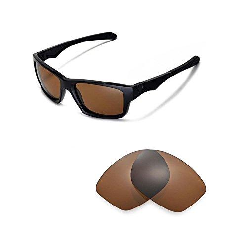 Walleva Ersatzgläser für Oakley Jupiter Squared Sonnenbrille - Mehrfache Optionen (Braun - polarisiert) (Jupiter Oakley Polarisiert Gläser)